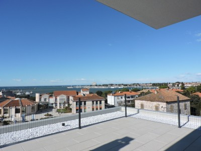 Apartment in Umag with roof terrace - top location 150 m form the sea!
