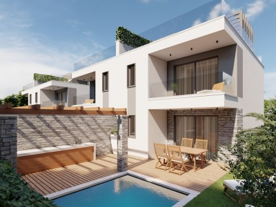 House in Novigrad - at the stage of construction